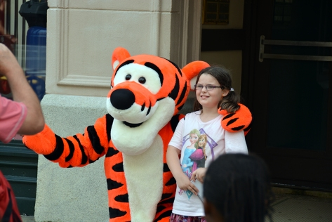 Character Palooza at Hollywood Studios August 2014 Tigger