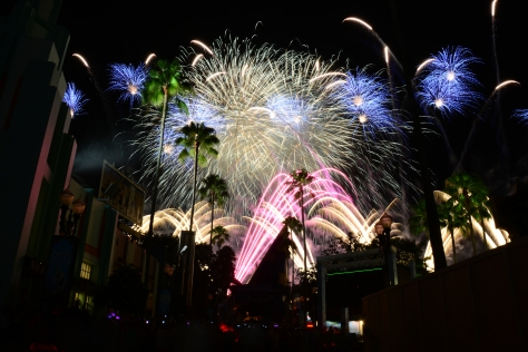 Frozen Fireworks at Disney's Hollywood Studios August 2014