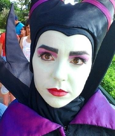 maleficent face new look disney world epcot
