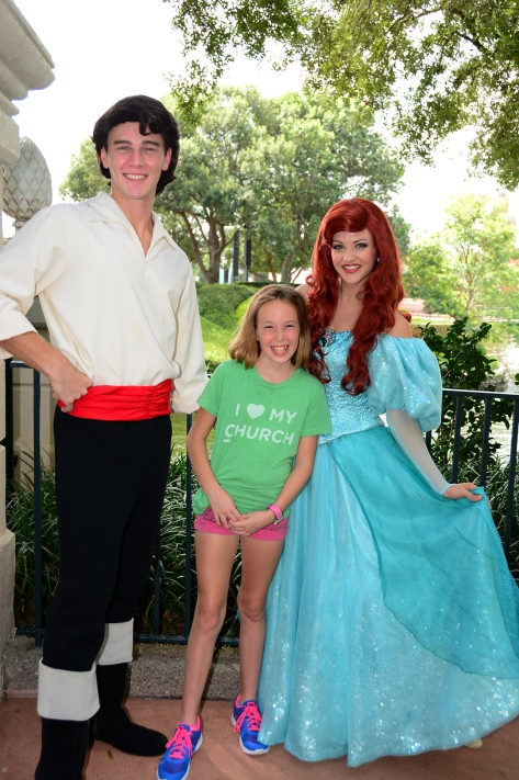 Ariel and Eric at Epcot Trainng meet at International Gateway September 2014 (1)