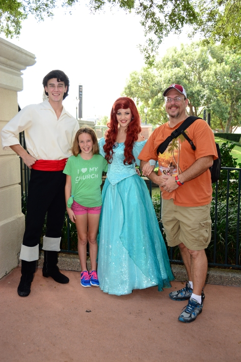 Ariel and Eric at Epcot Trainng meet at International Gateway September 2014 (4)