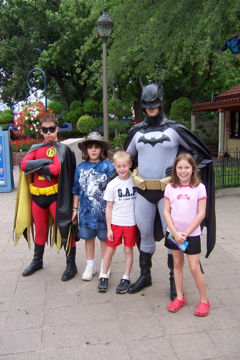 Batman and Robin Six Flags Texas 2007