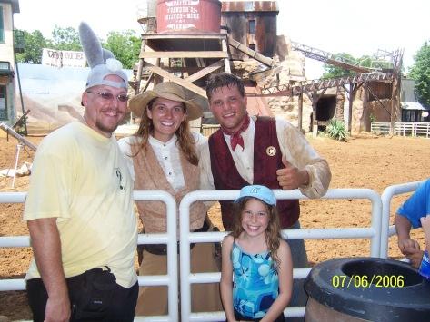 Cowboy Show Actors Six Flags Texas 2006