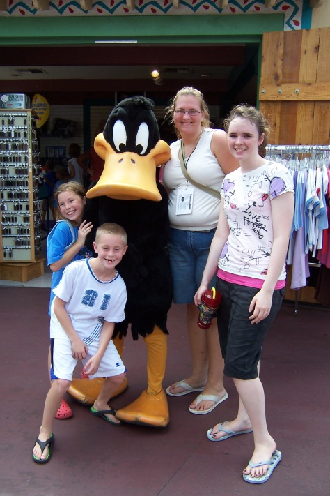 Daffy Duck Six Flags Texas 2007