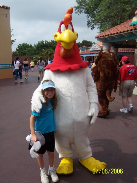 Foghorn Leghorn Six Flags Texas 2006