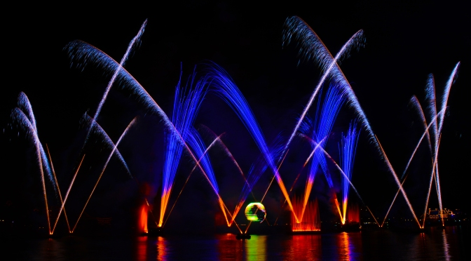 Illuminations Reflections of Earth Fireworks at Epcot in Disney World