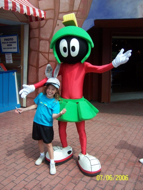 Marvin Martian Six Flags Texas 2006
