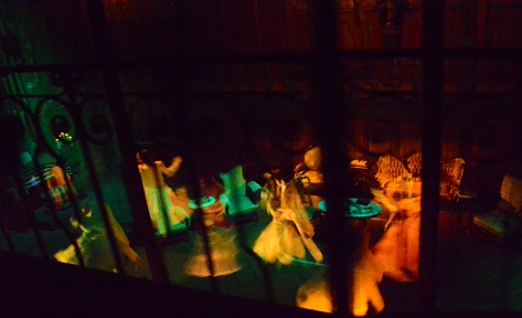 Mickey's Not So Scary Halloween Party 2014 Haunted Mansion
