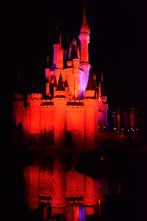 Mickey's Not So Scary Halloween Party 2014 Cinderella Castle