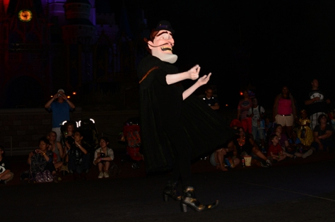 Mickey's Not So Scary Halloween Party 2014 Boo to You Halloween Parade Bowler Hat Guy
