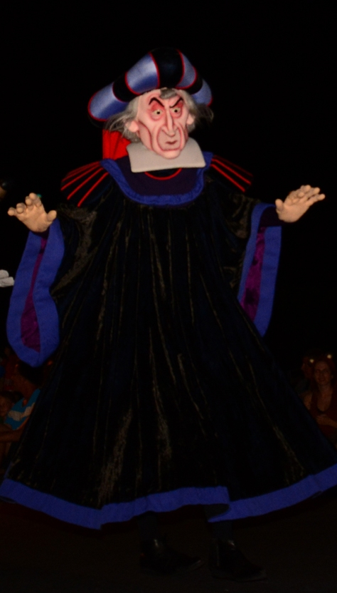Mickey's Not So Scary Halloween Party 2014 Boo to You Halloween Parade Frollo