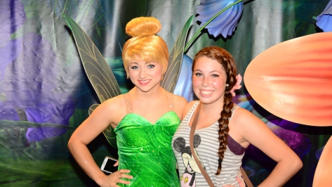 Mickey's Not So Scary Halloween Party 2014 Tinker Bell Meet and Greet