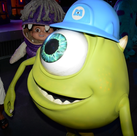 Mickey's Not So Scary Halloween Party 2014 Mike Wazowski