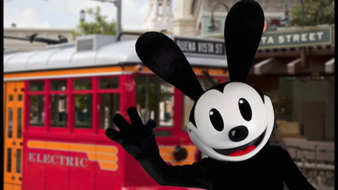 Oswald the Lucky Rabbit to appear at Disney California Adventure