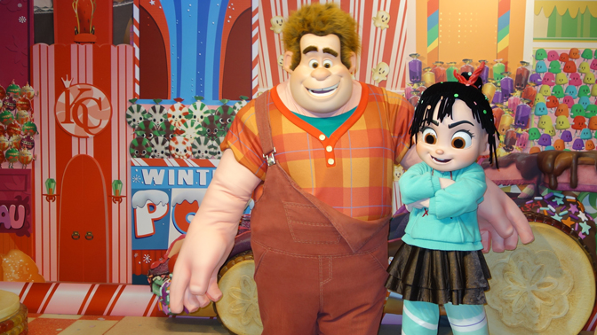 ralph and vanellope leaving hollywood studios