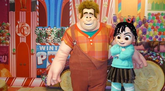 RUMOR:  Ralph and Vanellope's last day is coming soon at Disney's Hollywood Studios
