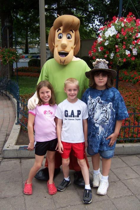 Shaggy Six Flags Texas 2007