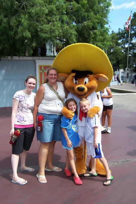 Speedy Gonzalez Six Flags Texas 2007