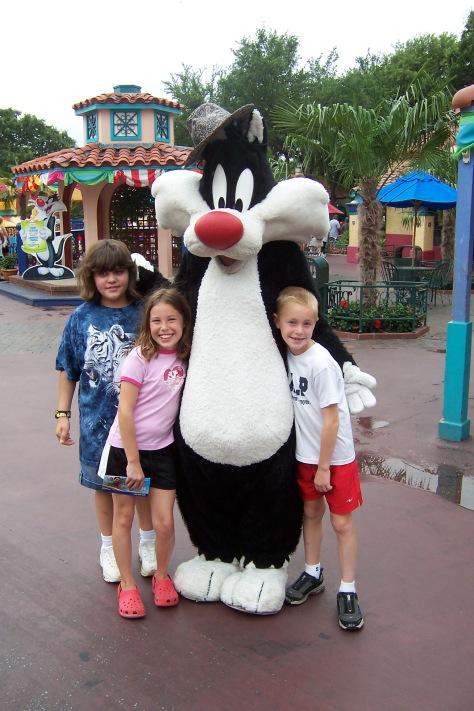 Sylvester Six Flags Texas 2007