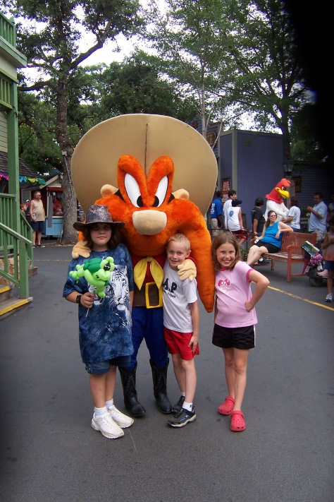 Yosemite Sam Six Flags Texas 2007
