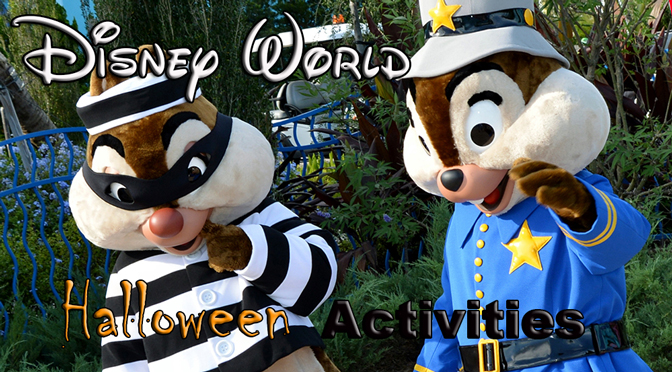 Disney World Resort Halloween Activities and Character Meet and Greets